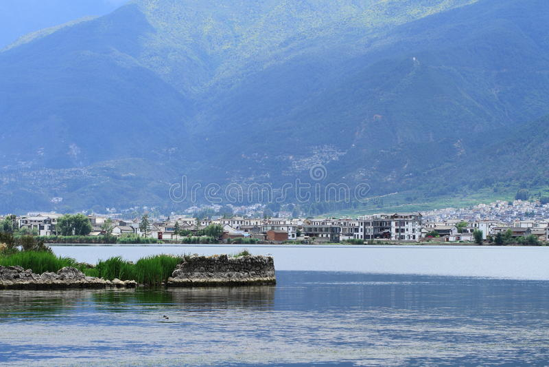 Dali Erhai Lake imágenes de archivo libres de regalías