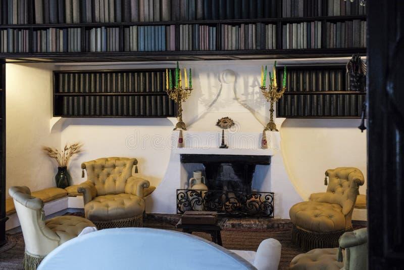 Dali Residence Cadaques Spanien arkivfoton