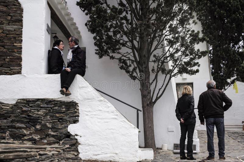 Dali Residence Cadaques Spanien royaltyfria bilder
