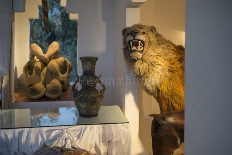 Dali Residence Cadaques Spanien arkivfoto