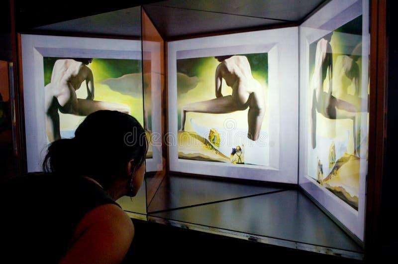Dali Theatre ed il museo, Figueres, Spagna fotografia stock libera da diritti