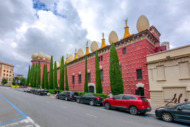 Dali Theatre et musée, Figueras, Espagne photographie stock