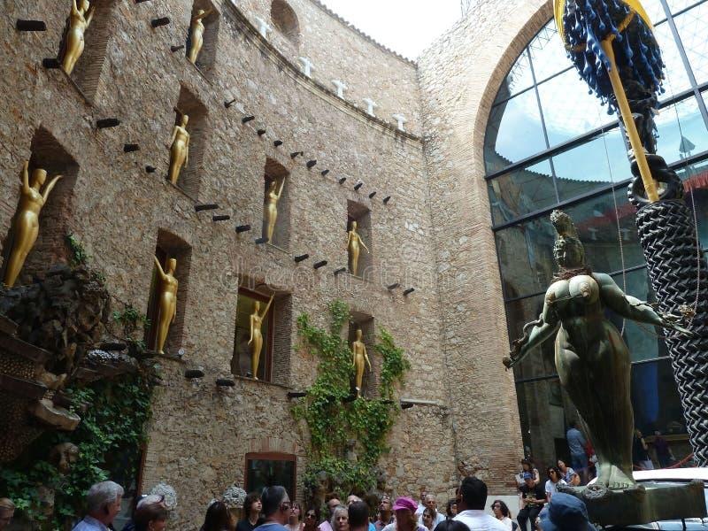 Dali Theatre-Museum à Figueres, Catalogne, Espagne images stock