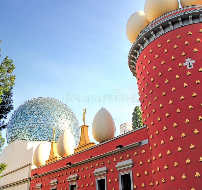 Dali Theatre und Museum lizenzfreie stockfotos