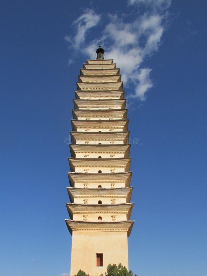 Dali three towers royalty free stock image