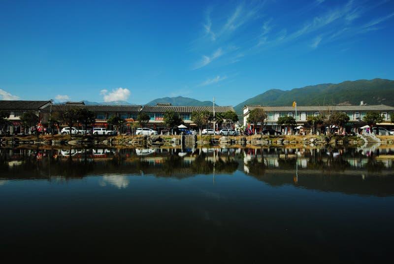 Dali Xizhou Ancient Town, Yunnan stock image
