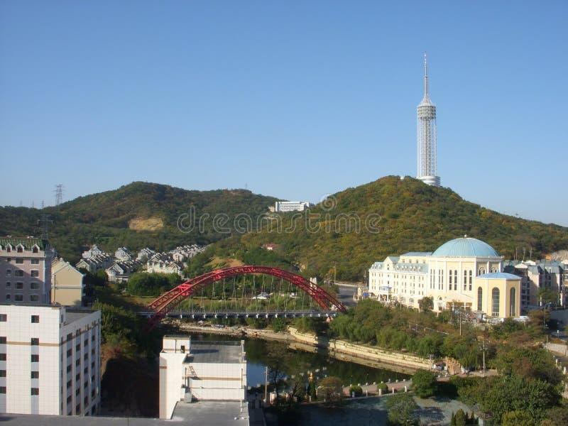 Dalian, Κίνα στοκ εικόνες