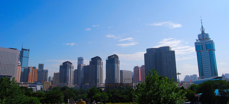 Dalian, China. imagen de archivo libre de regalías