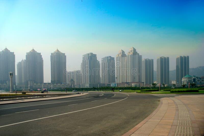 Dalian, China. stock foto's