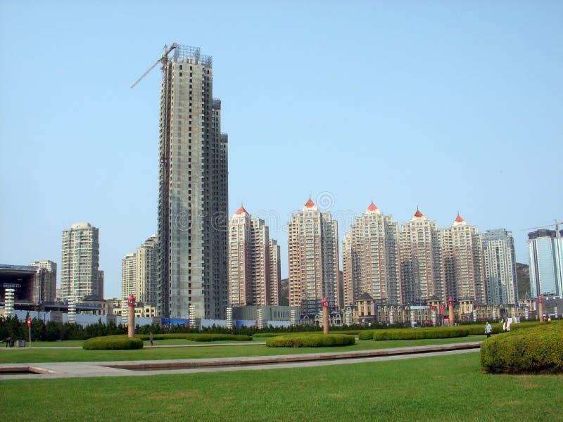 Dalian Kina arkivfoton