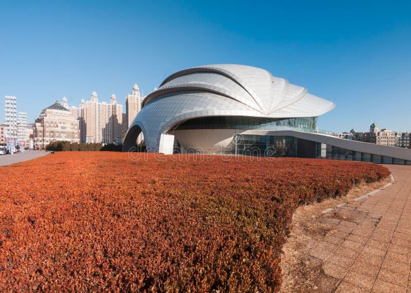 Dalian Shell Museum no quadrado de Xinghai fotos de stock