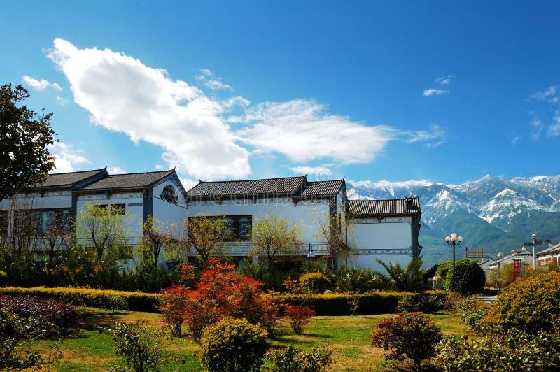 dalilandskap yunnan royaltyfria foton