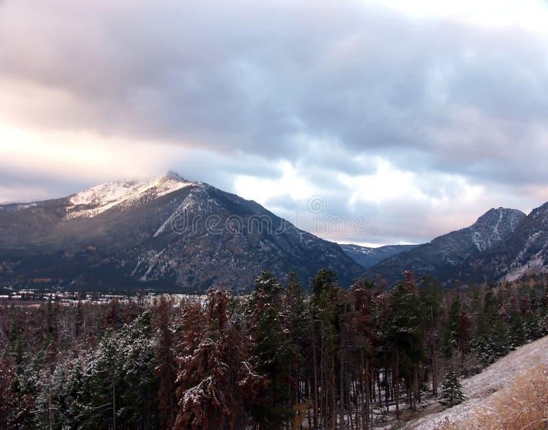 Daling van de Bergen van Colorado royalty-vrije stock afbeelding