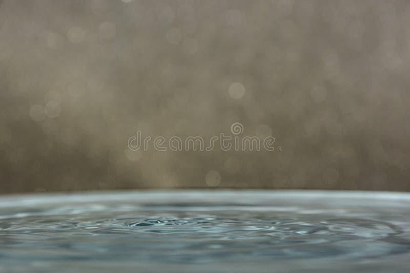 Daling van Schoon Water royalty-vrije stock fotografie