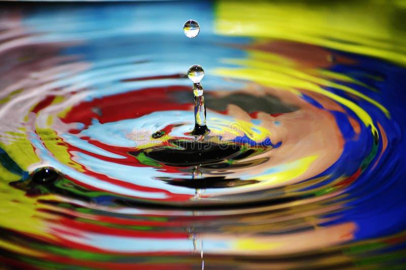 Daling van water stock afbeeldingen