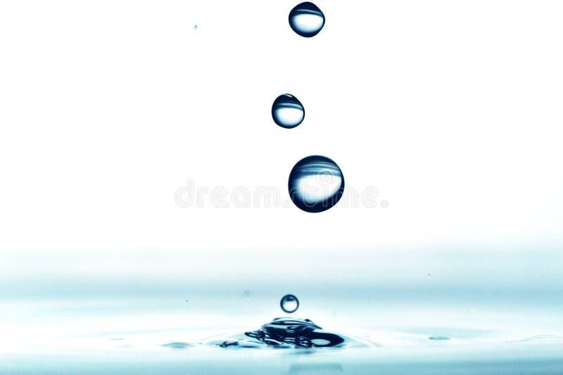 Daling van water stock foto
