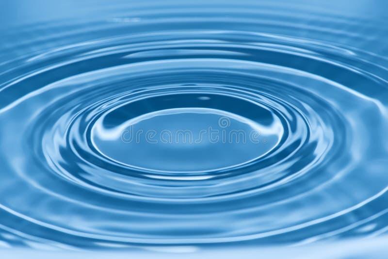 Daling in water royalty-vrije stock afbeelding