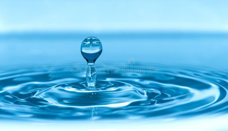 Daling in water royalty-vrije stock afbeeldingen