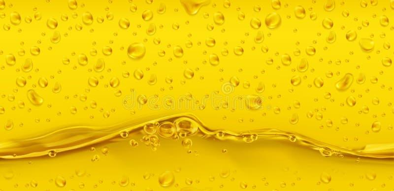 Dalingen Gouden naadloos patroon 3d vector vector illustratie