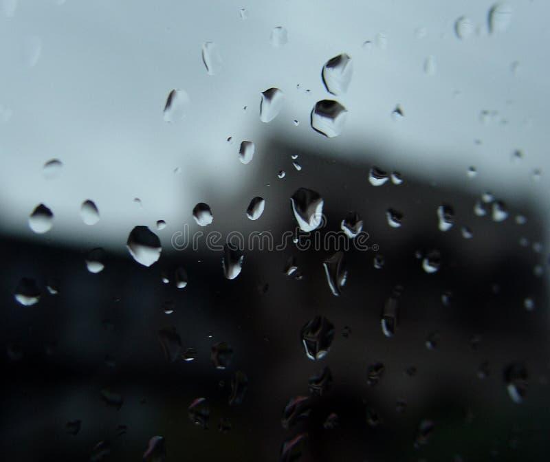 Dalingen van regen stock fotografie