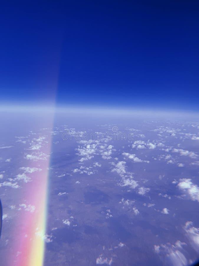 Dall'aereo immagini stock