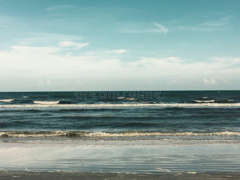 Dall'oceano fotografia stock libera da diritti
