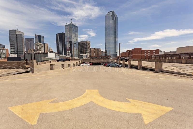 Dallas śródmieścia okręg obrazy royalty free