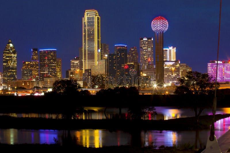 dallas городской texas стоковое изображение rf