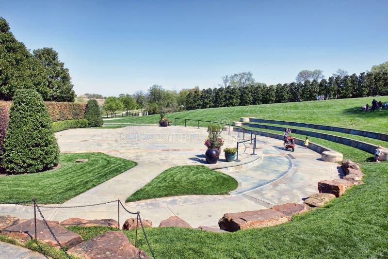 Dallas arboretum park zdjęcie stock