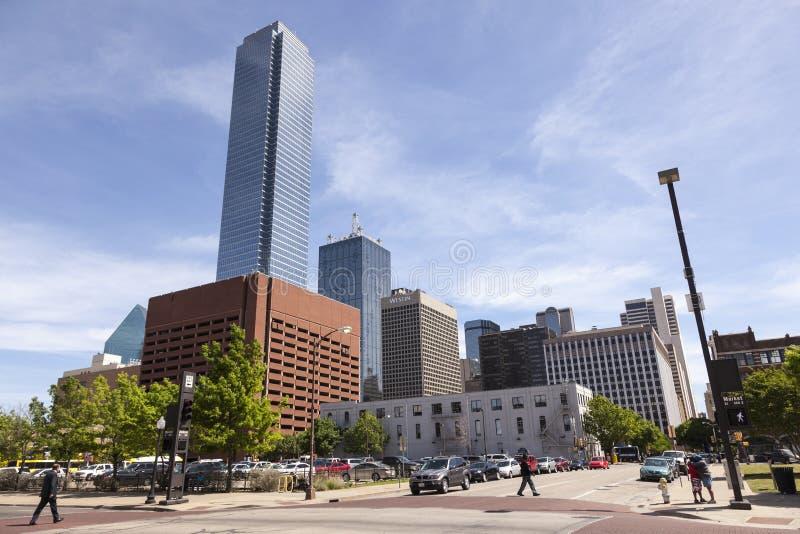 Dallas céntrica, Tejas imagenes de archivo