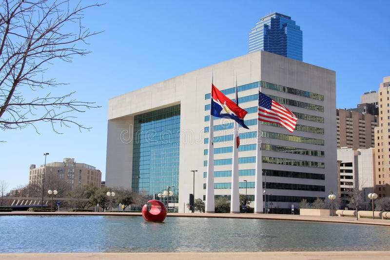 Download Dallas city hall stock photo. Image of united, space - 23583982
