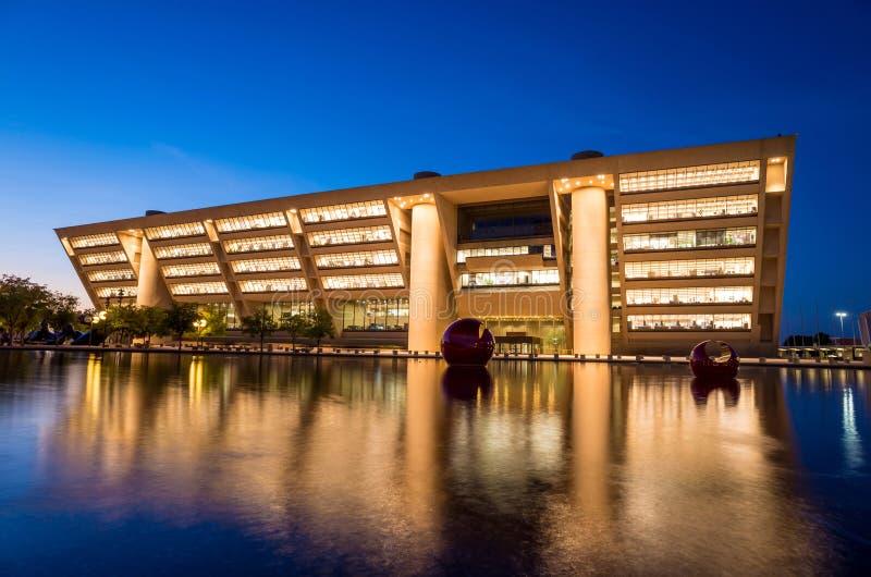 Dallas City Hall stock afbeeldingen