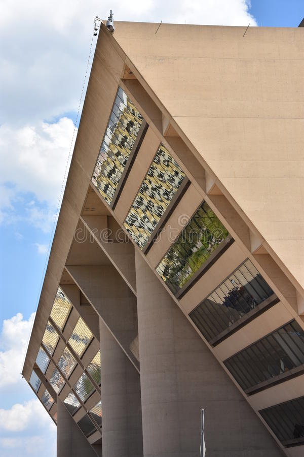 Dallas City Hall en Tejas imágenes de archivo libres de regalías