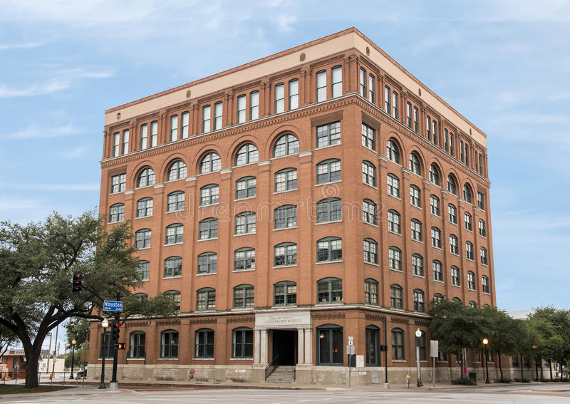 Dallas County Administration Building, 6de Verdieping Museum stock foto's