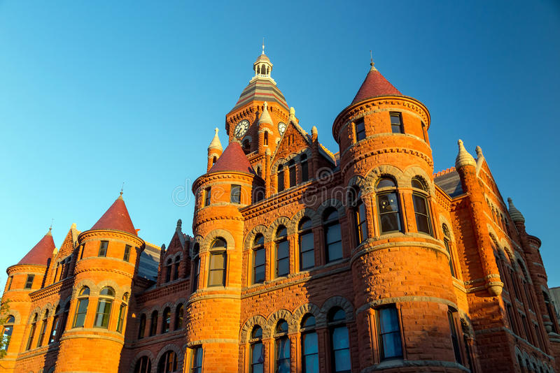 The Dallas County Courthouse royalty free stock images