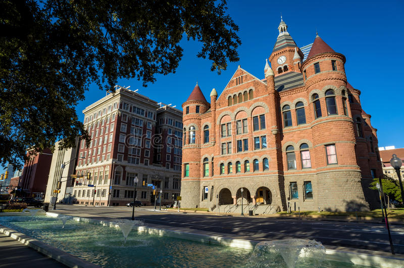 The Dallas County Courthouse stock photo