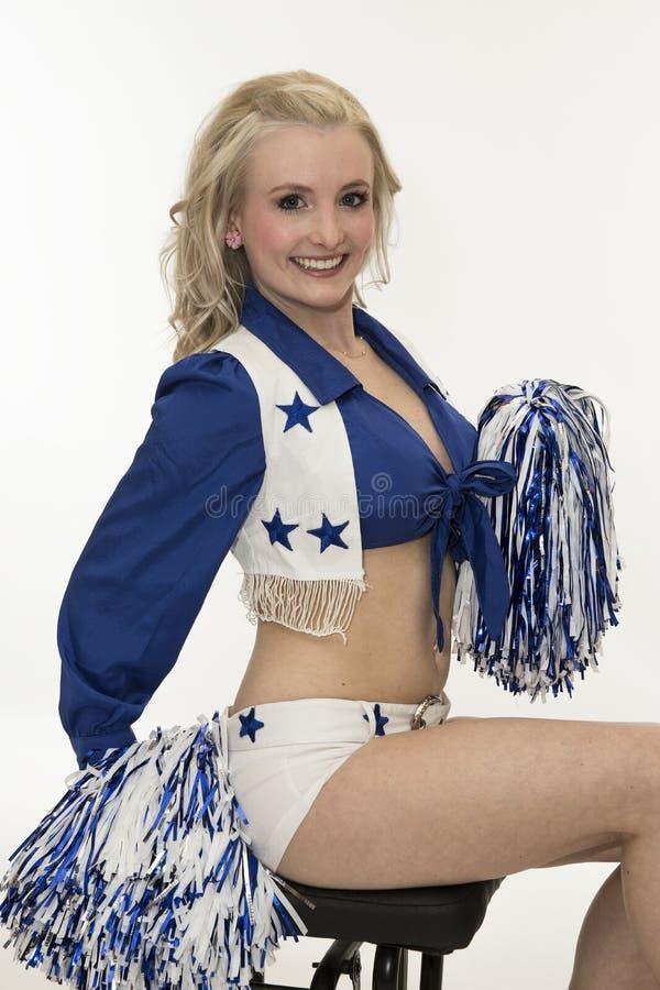 Dallas Cowboy Cheerleader royalty-vrije stock fotografie