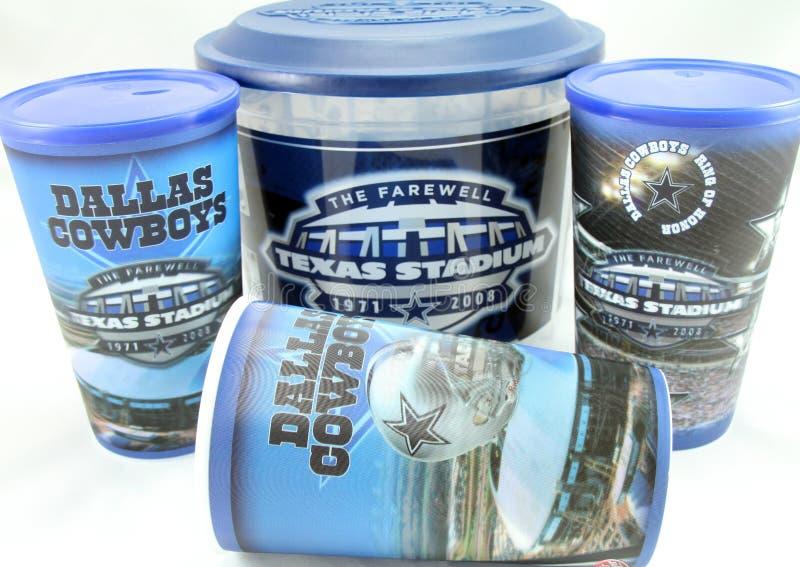 Dallas Cowboys Memorabilia imagem de stock royalty free