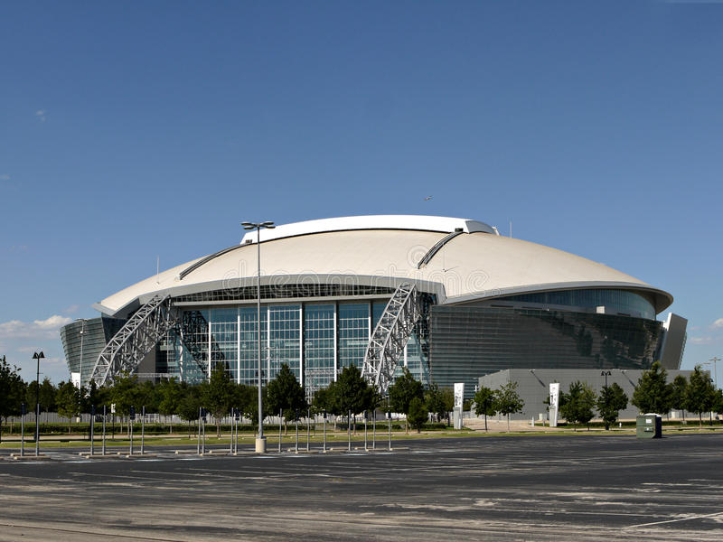 Dallas Cowboys Stadium fotografia de stock