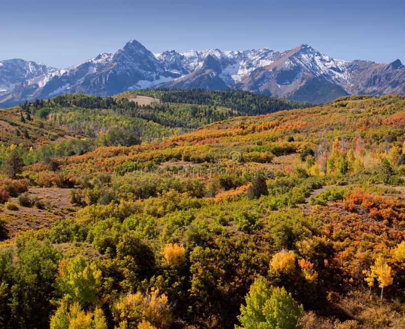 Download Dallas Divide in Autumn stock image. Image of rocky, range - 21575685