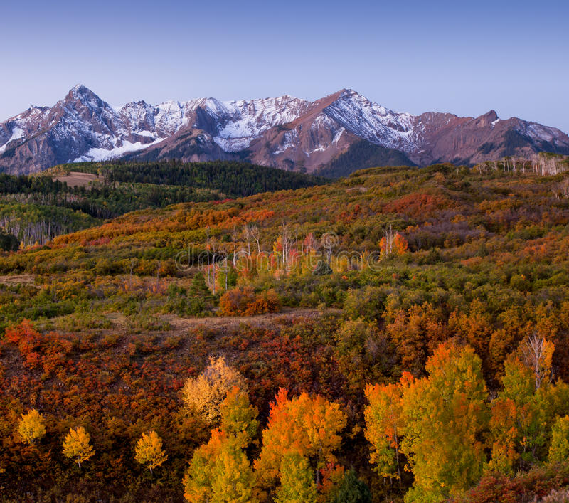 Dallas Divide In Autumn Stock Photo