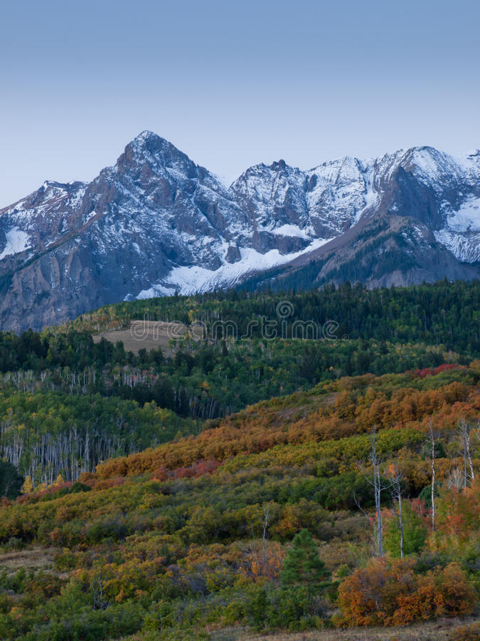 Download Dallas Divide in Autumn stock image. Image of evergreen - 21677099
