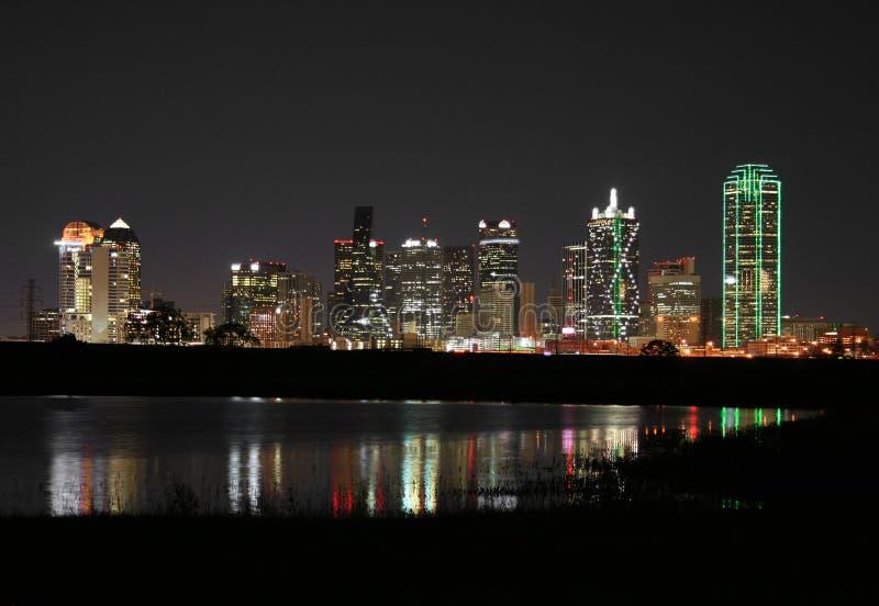 Dallas du centre, le Texas   photos stock