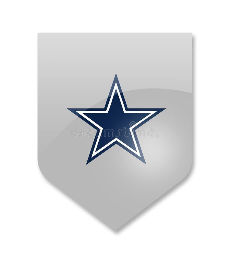 Dallas kowbojów drużyna royalty ilustracja