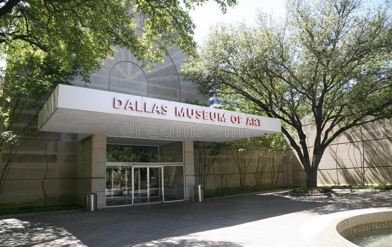 Dallas Museum of Art. The Dallas Museum of Art is one of the largest art museums in America, located in the nation`s largest arts district in downtown Dallas stock images