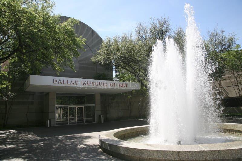 Dallas Museum de Art Courtyard foto de archivo libre de regalías