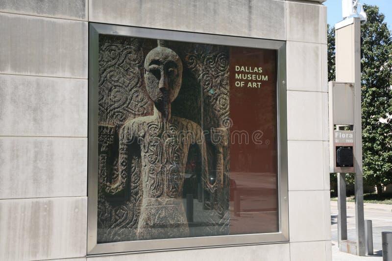 Dallas Museum di Art Poster fotografie stock libere da diritti
