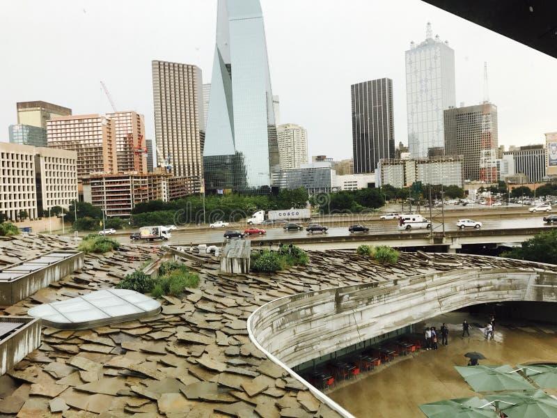 Dallas no meio-dia imagens de stock