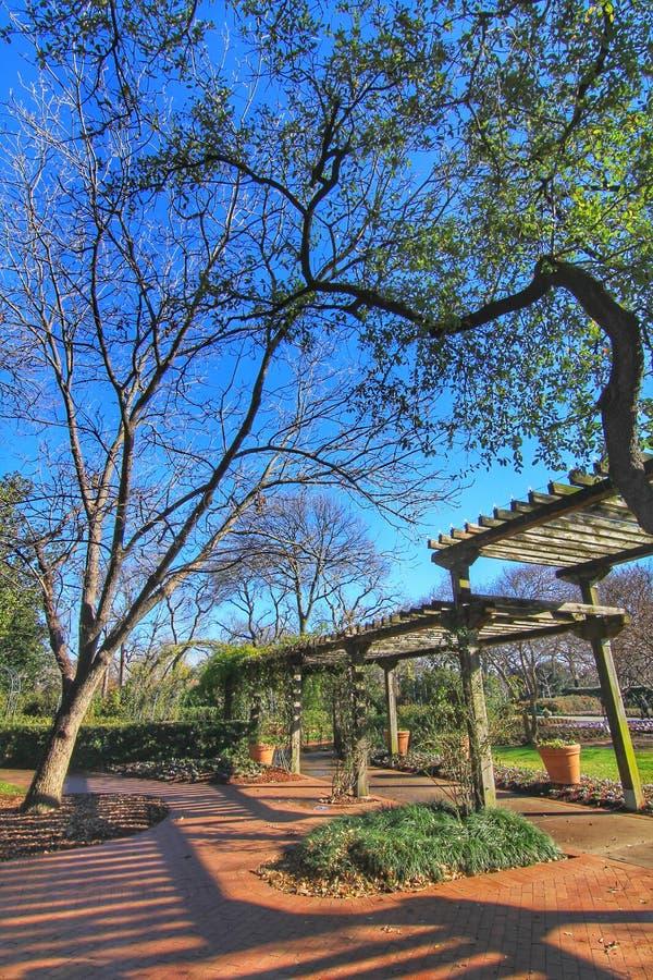 Dallas ogródy botaniczni i arboretum zdjęcie stock