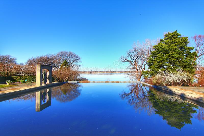 Dallas ogródy botaniczni i arboretum obraz royalty free